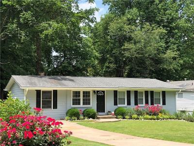 Single Family Home For Sale: 4112 Eula Circle