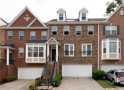 Johns Creek Condo/Townhouse For Sale: 6017 Galewind Court
