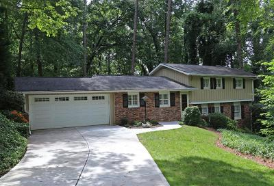 Brookhaven Single Family Home For Sale: 4189 Shawnee Lane NE