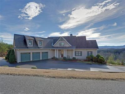 Blairsville Single Family Home For Sale: 93 Town Creek Overlook