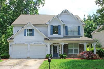 Acworth GA Single Family Home For Sale: $225,000