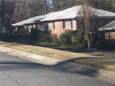 Sandy Springs Single Family Home For Sale: 230 Beachland Drive