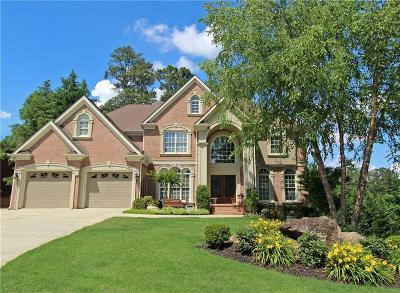 Acworth Single Family Home For Sale: 5976 Downington Ridge NW