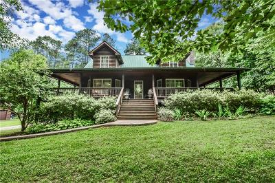 Single Family Home For Sale: 483 Friendship Church Road SW
