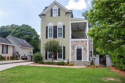 Single Family Home For Sale: 431 Trabert Avenue NW
