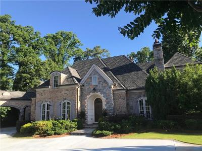 Sandy Springs Single Family Home For Sale: 100 Mount Paran Ridge