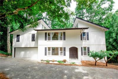 Single Family Home For Sale: 2710 Margaret Mitchell Drive NW