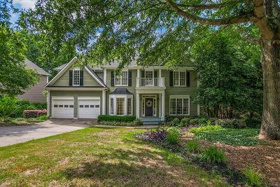 Johns Creek Single Family Home For Sale: 410 Eastbourne Way