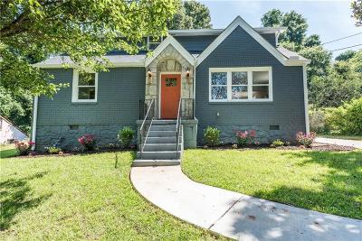 Single Family Home For Sale: 1892 Terry Mill Road SE