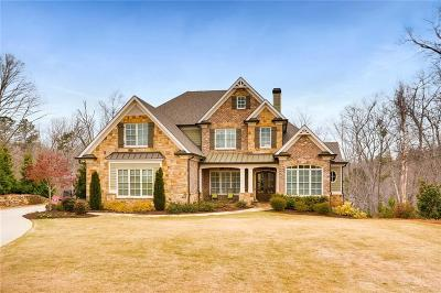 Roswell Single Family Home For Sale: 13139 Overlook Pass