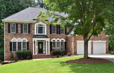 Kennesaw Single Family Home For Sale: 1604 Mansfield Cove NW