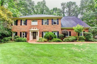 Sandy Springs Single Family Home For Sale: 9560 Marsh Cove Court