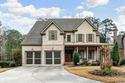 Roswell Single Family Home For Sale: 130 Lullwater Court