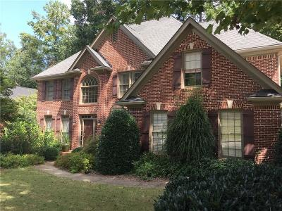 Peachtree Corners Single Family Home For Sale: 5026 Staverly Lane