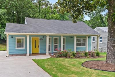 Single Family Home For Sale: 1741 Terry Mill Road SE