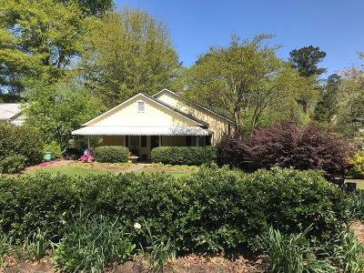 Roswell Single Family Home For Sale: 110 Fowler Avenue