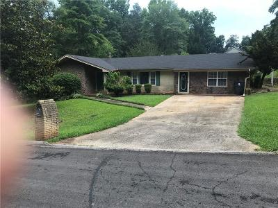 Lithia Springs Single Family Home For Sale: 3856 Fitzgerald Street