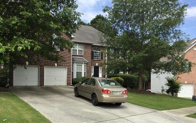 Grayson Single Family Home For Sale: 1729 Pinehurst View Court