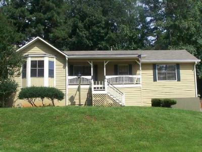 Kennesaw Single Family Home For Sale: 2252 Bayswater Drive NW