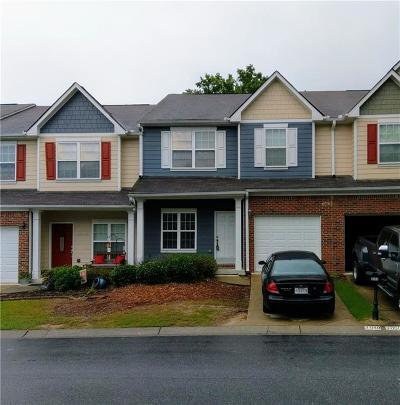 Buford Condo/Townhouse For Sale: 3048 Cedar Glade Lane