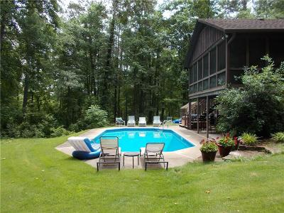 Marietta Single Family Home For Sale: 955 Cheatham Hill Road SW