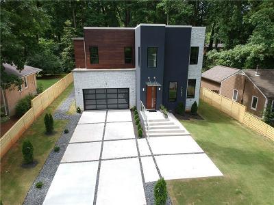 Atlanta Single Family Home For Sale: 1247 Mayfair Drive NE