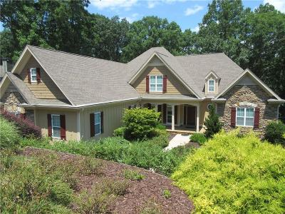 Dawsonville Single Family Home For Sale: 7250 Heron Lane