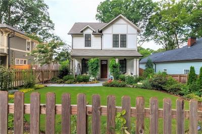 Atlanta Single Family Home For Sale: 173 Dearborn Street SE