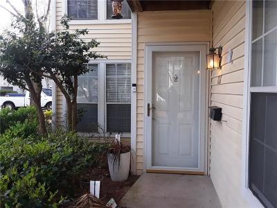 Sandy Springs Condo/Townhouse For Sale: 808 Gettysburg Place #808