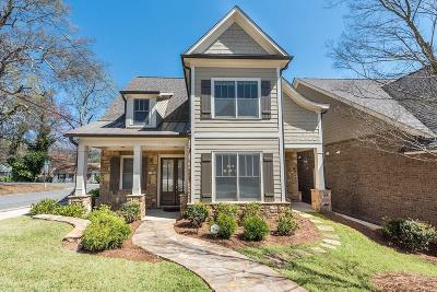 Marietta Single Family Home For Sale: 170 Red Buckeye Avenue
