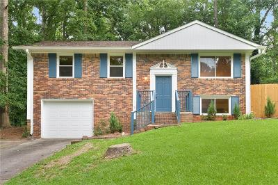 Smyrna Single Family Home For Sale: 2470 Rolling View Drive SE