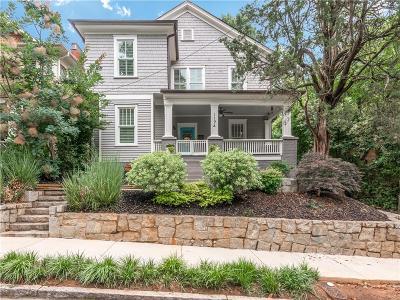 Atlanta Single Family Home For Sale: 1194 Mansfield Avenue NE