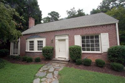 Atlanta Single Family Home For Sale: 3861 Wieuca Terrace NE