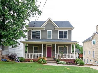 Grant Park Single Family Home For Sale: 38 Atlanta Avenue SE