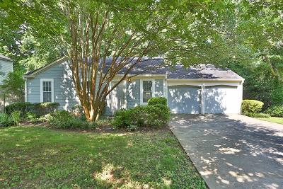 Alpharetta Single Family Home For Sale: 10620 Plantation Bridge Drive