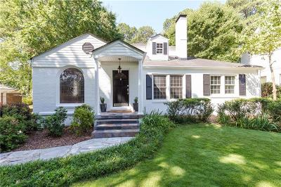 Peachtree Park Single Family Home For Sale: 727 Burke Road NE