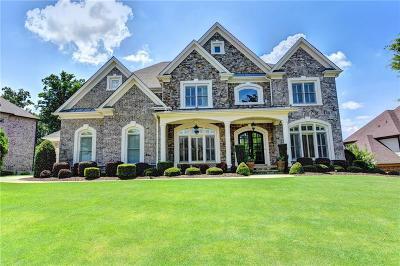 Suwanee Single Family Home For Sale: 5154 Brendlynn Drive