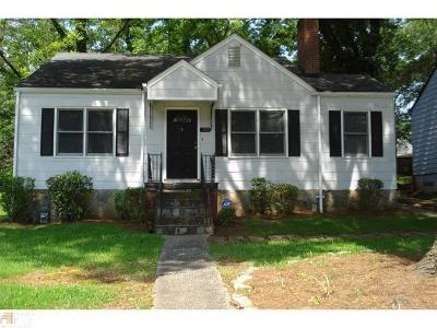 Atlanta Single Family Home For Sale: 390 Hooper Street SE