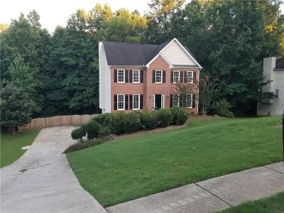 Hiram Single Family Home For Sale: 164 Hollow Springs Drive