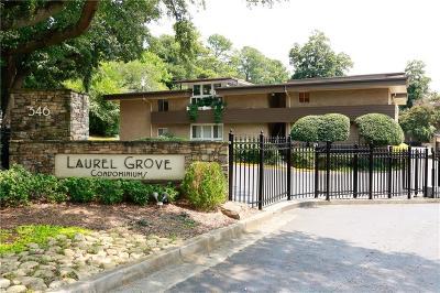 Atlanta Condo/Townhouse For Sale: 346 Carpenter Drive #31