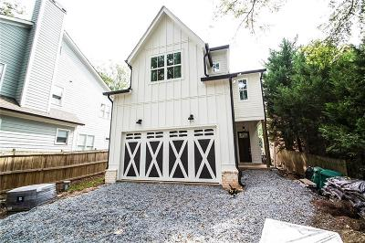 Brookhaven Single Family Home For Sale: 1283 Sylvan Circle NE