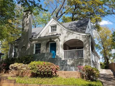 Single Family Home For Sale: 1407 Lanier Place NE