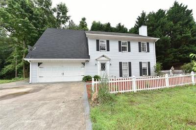 Suwanee Single Family Home For Sale: 568 Taylor Road