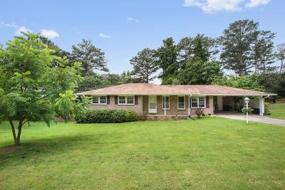 Marietta Single Family Home For Sale: 2138 Powers Ferry Drive SE