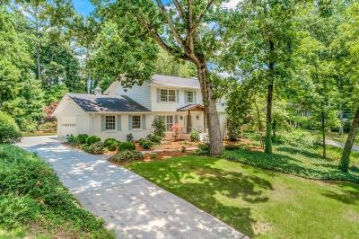 Sandy Springs Single Family Home For Sale: 6615 Williamson Drive