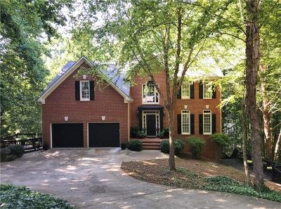 Alpharetta, Cumming, Johns Creek, Milton, Roswell Single Family Home For Sale: 1800 Habersham Trace