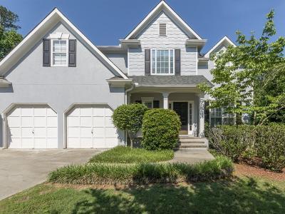 Smyrna Single Family Home For Sale: 1713 Hidden Springs Trace SE