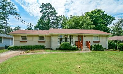 Decatur Single Family Home For Sale: 2315 Mark Trail