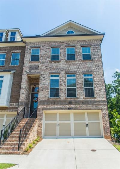 Alpharetta Condo/Townhouse For Sale: 1028 Township Square