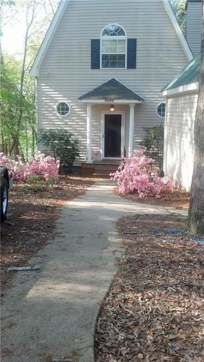 Forsyth County, Gwinnett County Single Family Home For Sale: 6980 Diana Circle